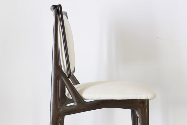 1960s Vintage Dining Chairs by Vittorio Dassi, Set of Six 8