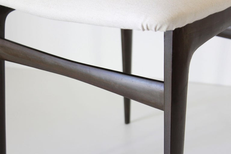 1960s Vintage Dining Chairs by Vittorio Dassi, Set of Six 9