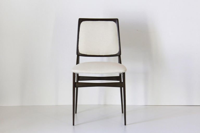 1960s dining chairs from iconic italian manugacturer