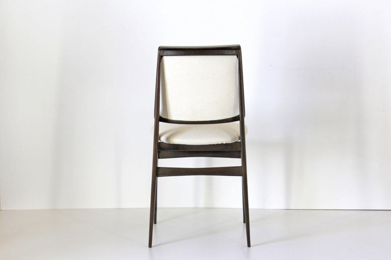 Mid-20th Century 1960s Vintage Dining Chairs by Vittorio Dassi, Set of Six
