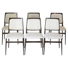 1960s Vintage Dining Chairs by Vittorio Dassi, Set of Six