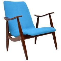 1960s Vintage Dutch Armchair by Louis Van Teeffelen