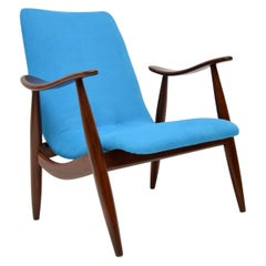 1960s Vintage Dutch Armchair by Louis Van Teeffelen