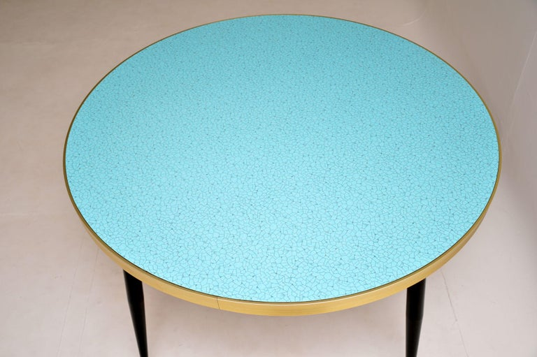 Mid-20th Century 1960s Vintage Formica Kitchen / Dining Table