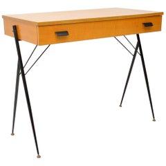 1960s Vintage Italian Desk or Writing Table