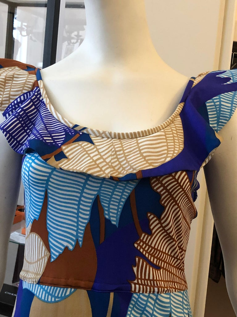 Women's 1960s Vintage Lanvin Dress Designed by Jules Francois Crahay For Sale