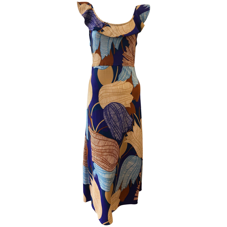 1960s Vintage Lanvin Dress Designed by Jules Francois Crahay
