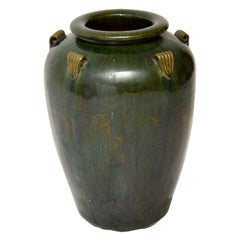 1960's Vintage Large Ceramic Earthenware Vase