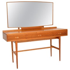 1960s Vintage Mahogany Dressing Table by Robert Heritage