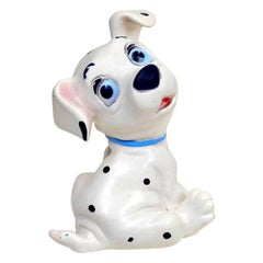 1960s Vintage Original Disney One Hundred and One Dalmatians Rubber Squeak Toy