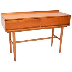 1960s Vintage Satin Wood Side Table by Beresford & Hicks