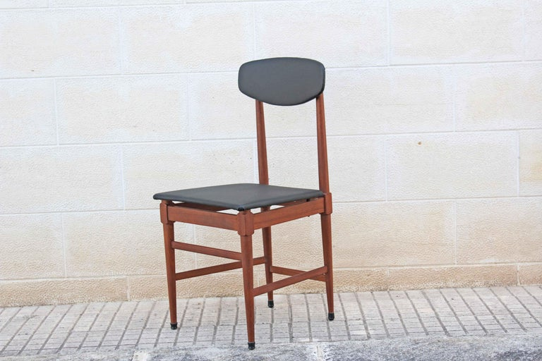 Scandinavian Modern 1960s Vintage Scandinavian Dining Chairs, Set of Four For Sale