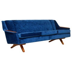 1960s Vintage Sofa by Illum Wikkelso for Westnofa