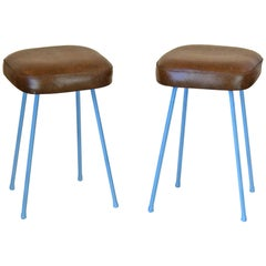 1960s Vintage Stools, Set of Two
