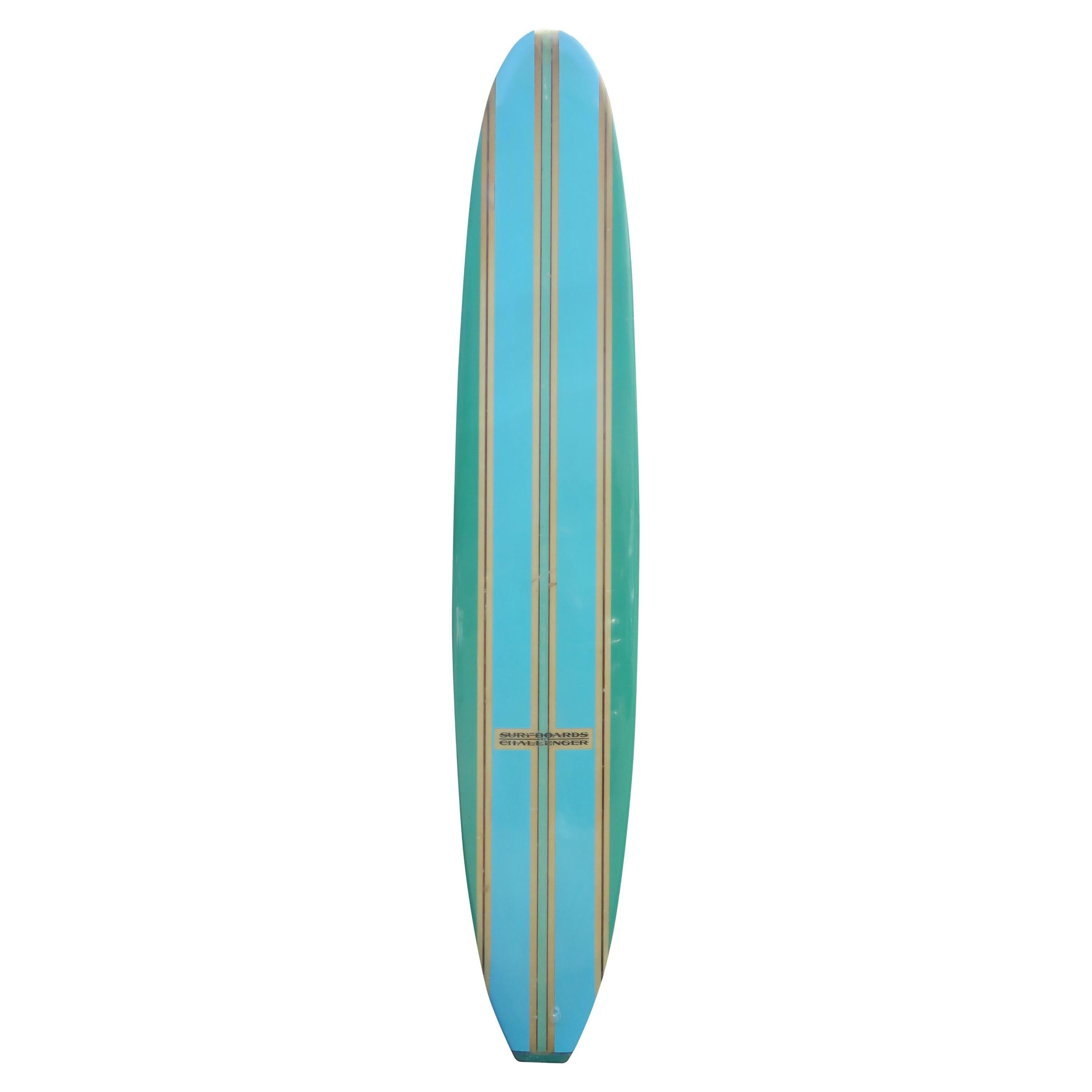 1960s Vintage Surfboards by Challenger longboard
