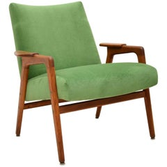 1960s Vintage Swedish Teak Armchair by Yngve Ekstrom