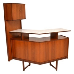 1960s Vintage Teak Bar / Drinks Cabinet by Turnidge