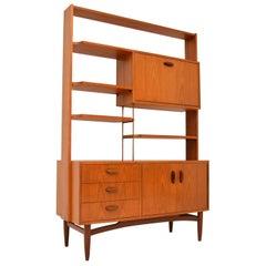 1960s Vintage Teak Bookcase or Room Divider by G- Plan