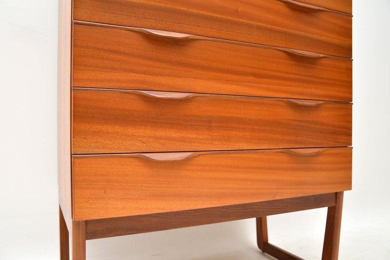 1960s Vintage Teak Chest of Drawers 3