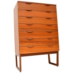 1960s Vintage Teak Chest of Drawers