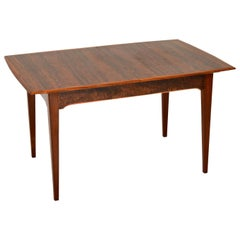 1960s Vintage Walnut Dining Table by Alfred Cox