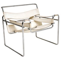 1960s Vintage Wassily Armchair by Marcel Breuer for Gavina