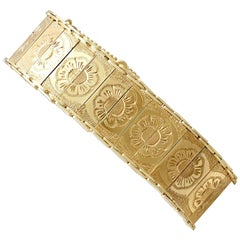1960s Vintage Yellow Gold Bracelet