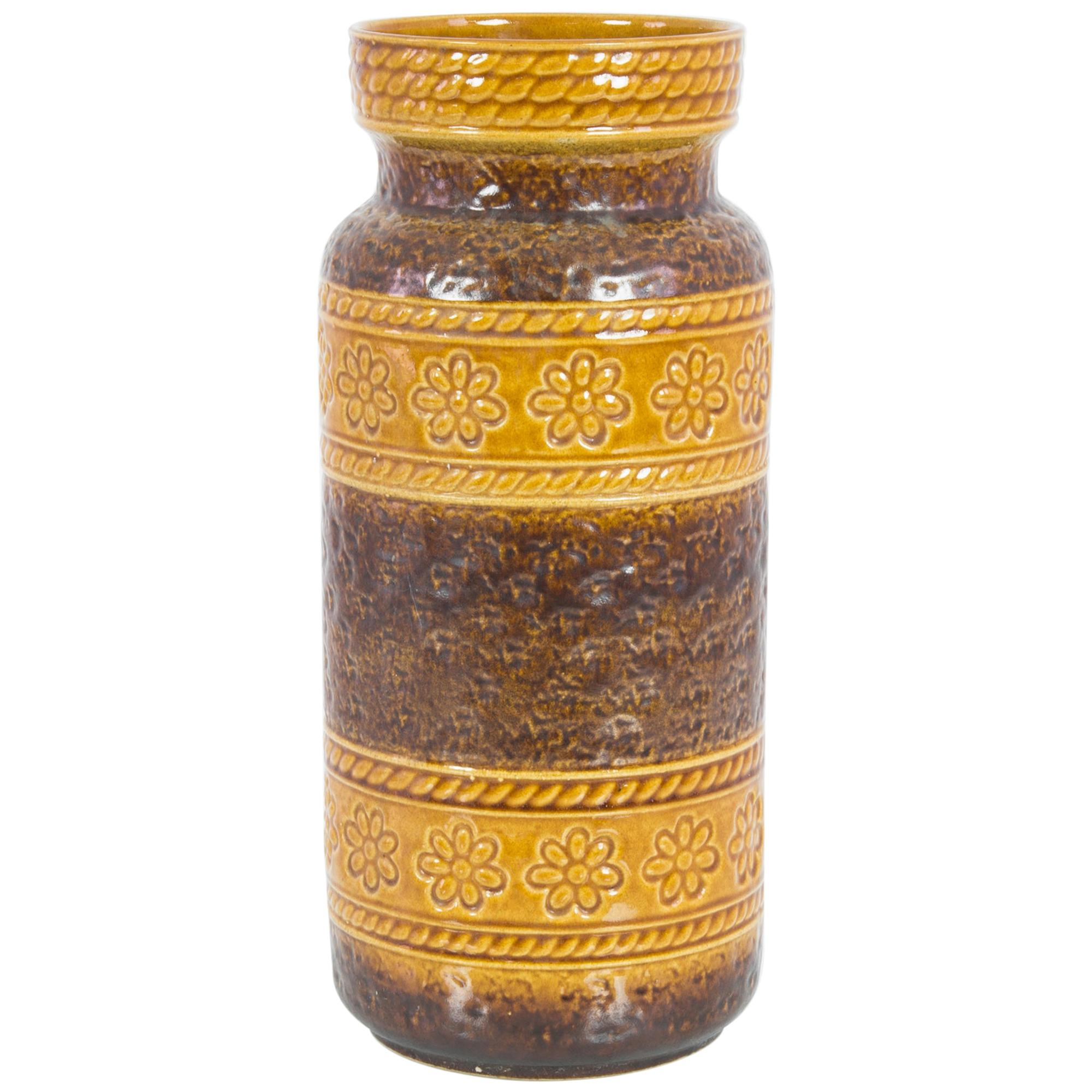 1960s W. Germany Ceramic Vase
