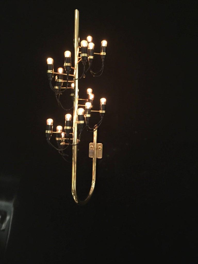 Mid-Century Modern 1960s Wall Light by Gino Sarfatti