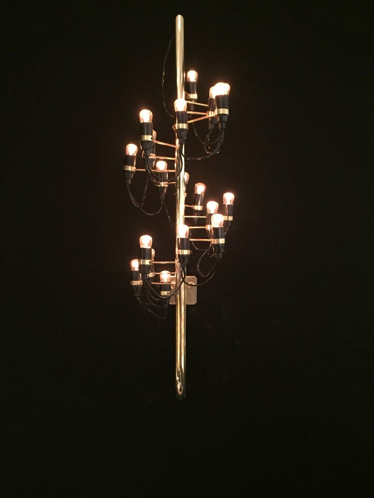 1960s Wall Light by Gino Sarfatti In Good Condition In Saint-Ouen, FR