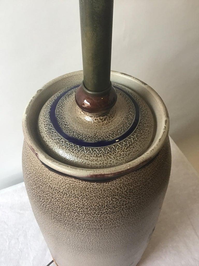 1960s West German Ceramic Horse Lamp For Sale 7