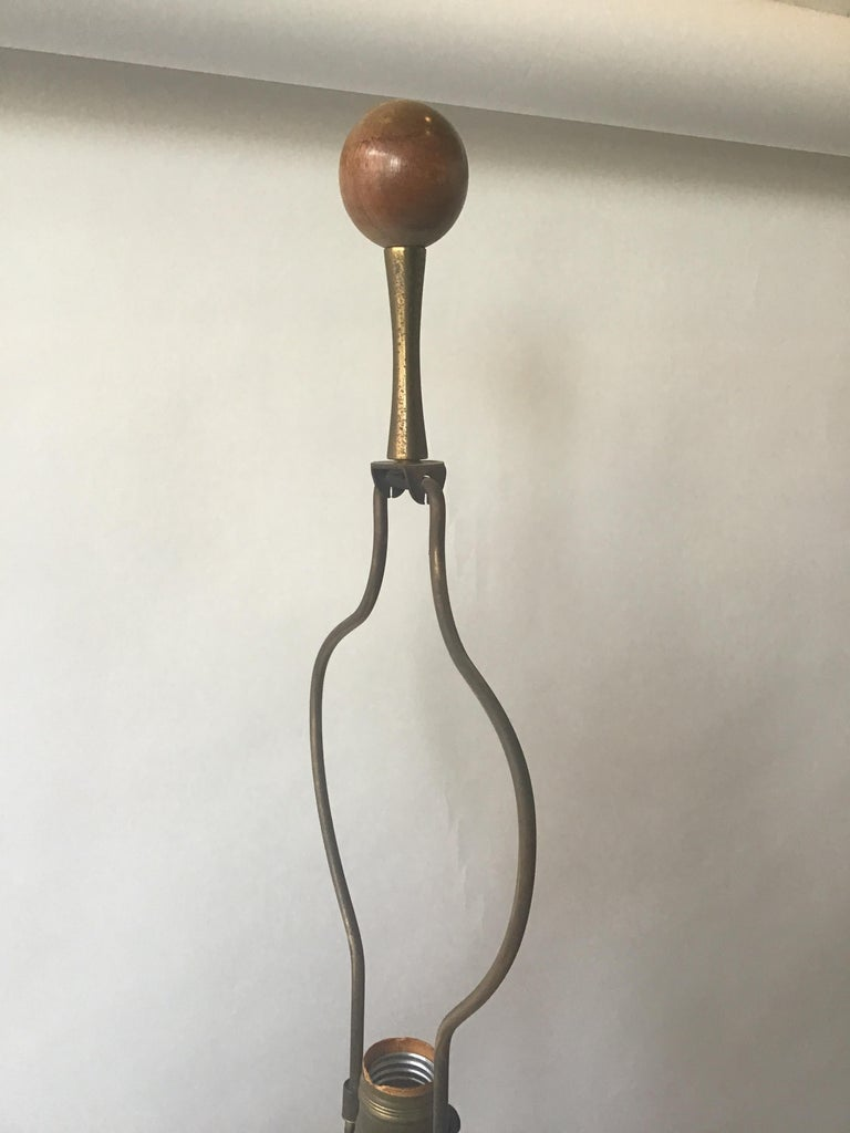 1960s West German Ceramic Horse Lamp For Sale 8