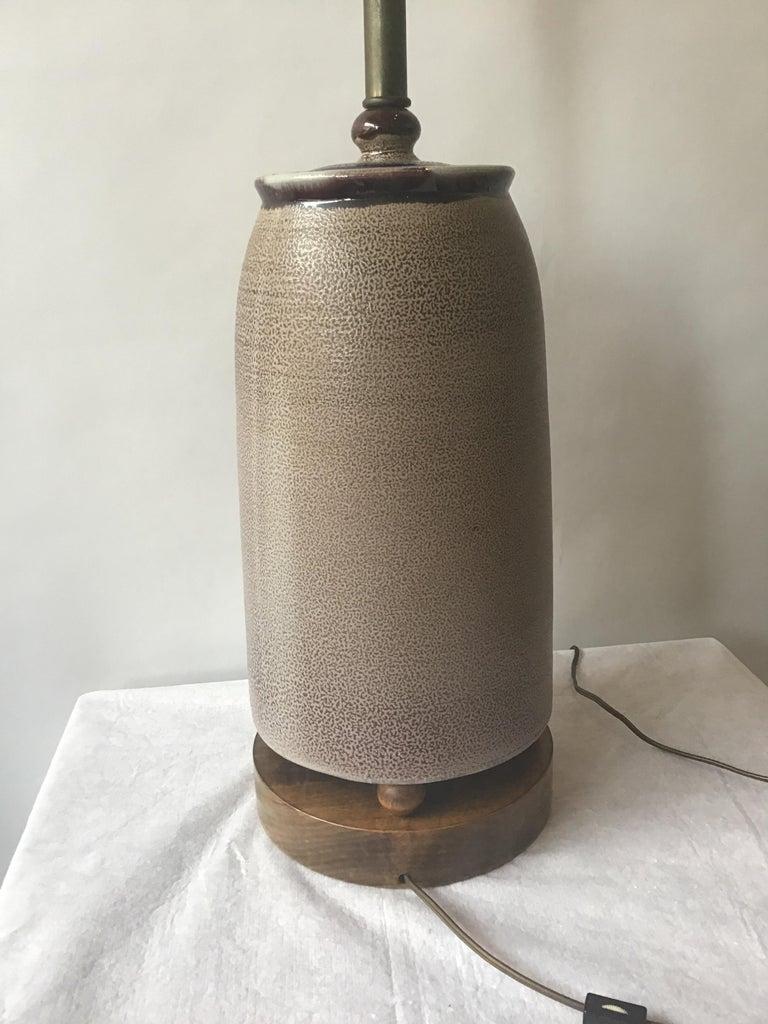 1960s West German Ceramic Horse Lamp For Sale 5
