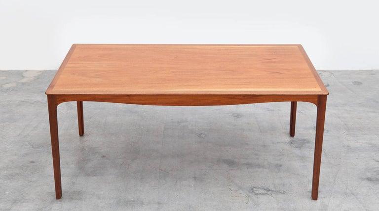 Scandinavian Modern 1960s Wooden Teak Side Table by Ole Wanscher 'c' For Sale