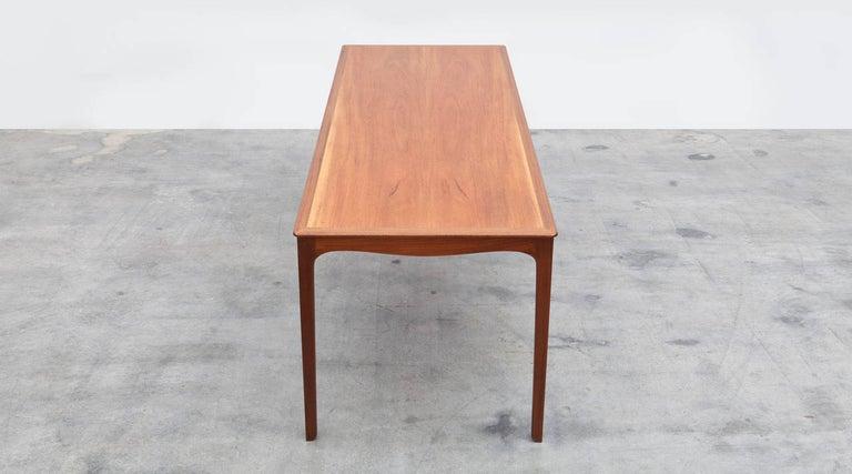 Danish 1960s Wooden Teak Side Table by Ole Wanscher 'c' For Sale