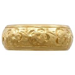1960s Diamond Platinum Gold Wedding Ring Set For Sale At