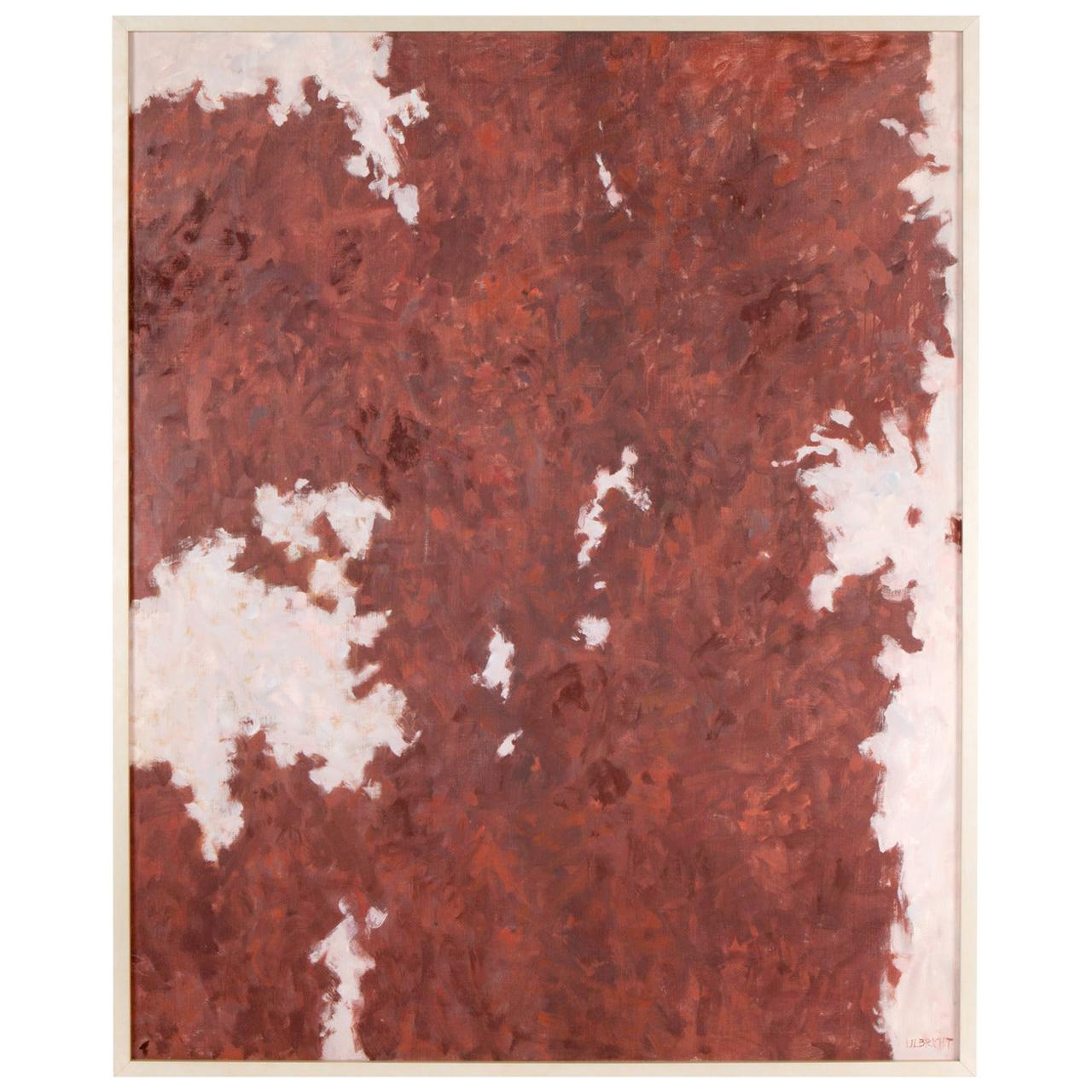 1961 Abstract Oil on Canvas by John Ulbricht