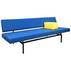 1961, Gijs Van Der Sluis Voor Van Der Sluist Culemborg, Sleeping Sofa in Blue