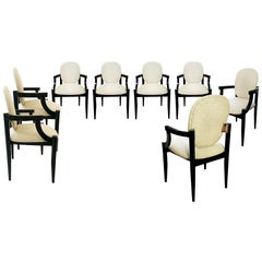 1961, Set of Eight Reno Armchairs by Alfons Milà & Frederic Correa, Barcelona