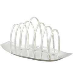 1961 Sterling Silver Toast Rack
