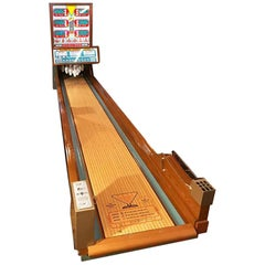 1962 Royal Crown Vintage Indoor Bowling Alley
