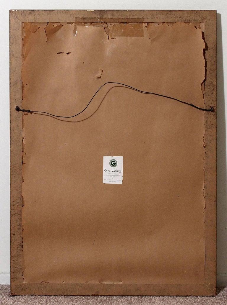 1963 Joe Nyiri Abstract Monoprint For Sale 4
