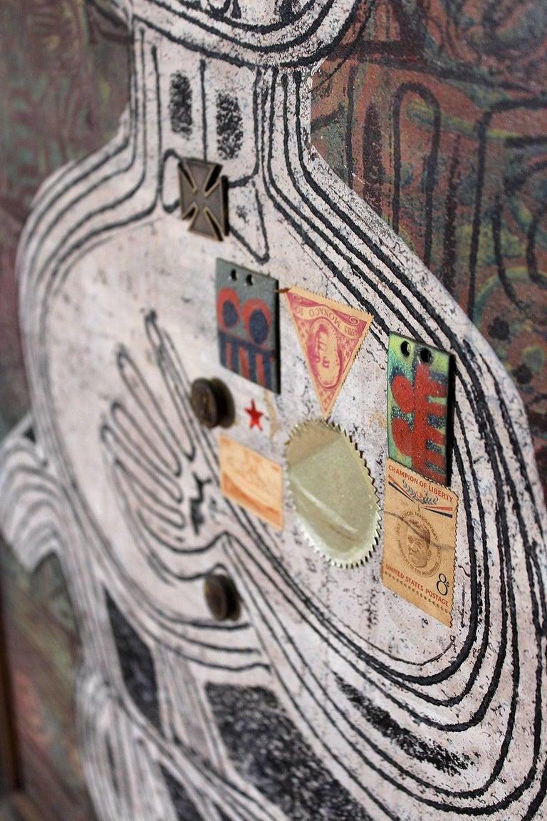1963 Joe Nyiri Abstract Monoprint For Sale 1