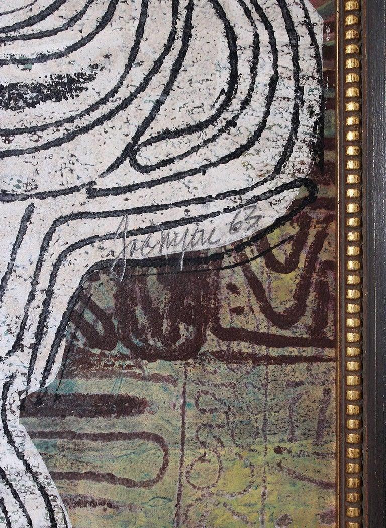1963 Joe Nyiri Abstract Monoprint For Sale 3
