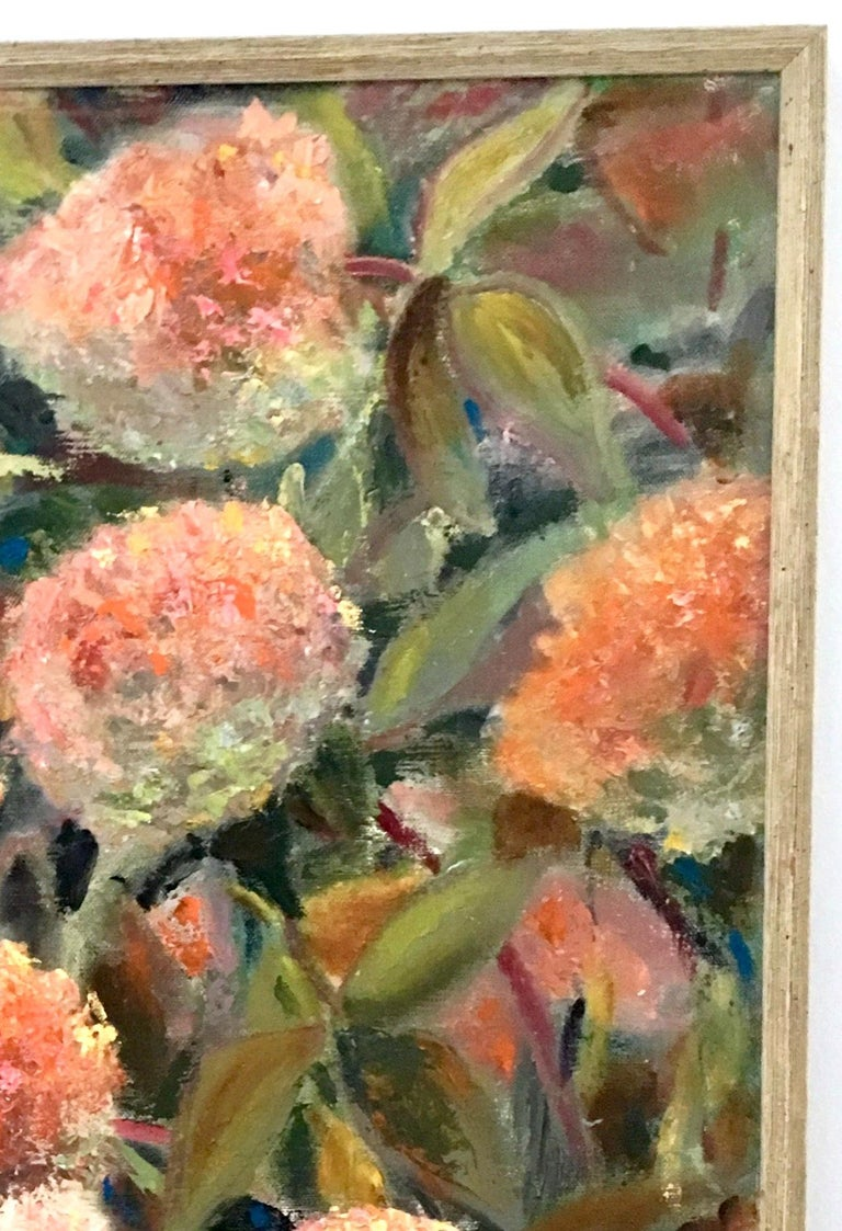 1963 Original Oil On Canvas Painting by, Maria Gerstman In Good Condition For Sale In West Palm Beach, FL