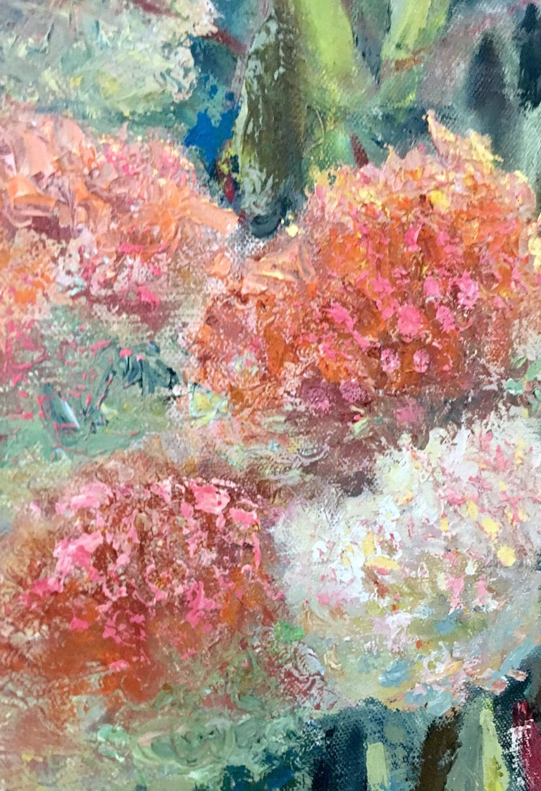 1963 Original Oil On Canvas Painting by, Maria Gerstman For Sale 2