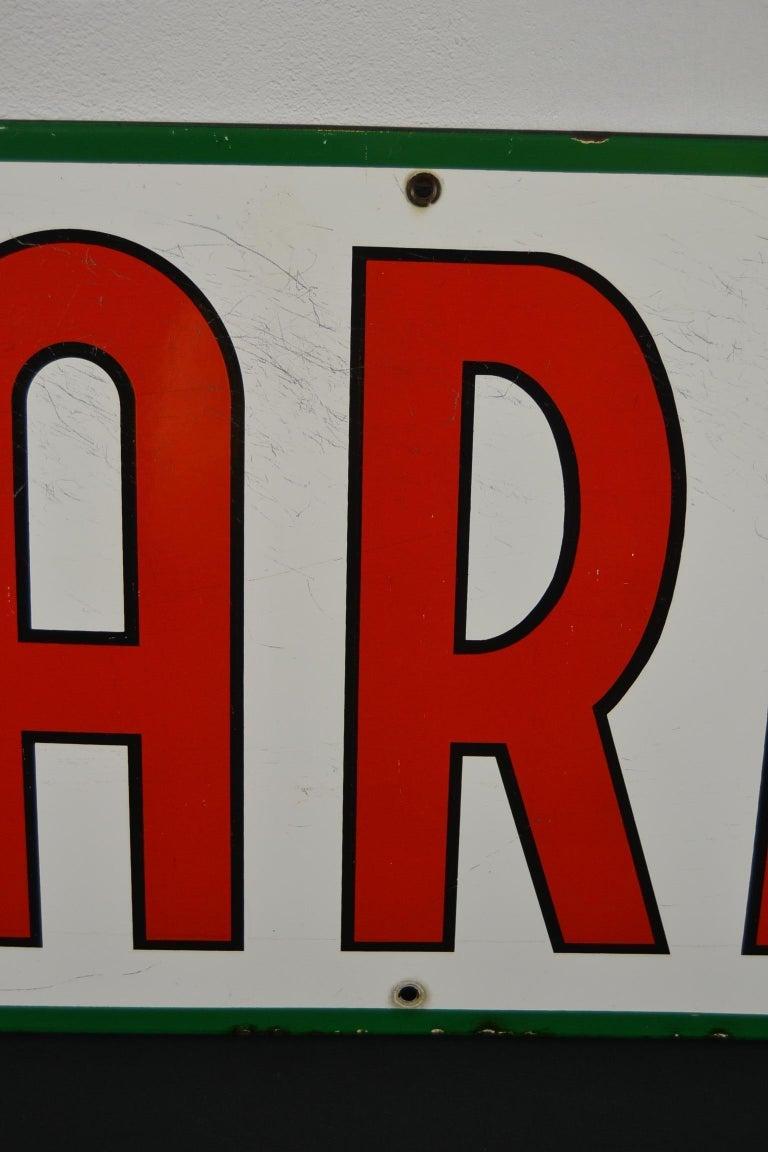 1963 Porcelain Sign for Cigarettes Armada For Sale 2