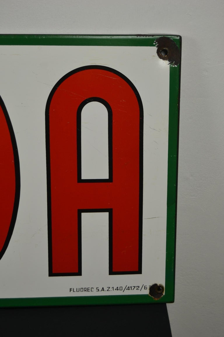 1963 Porcelain Sign for Cigarettes Armada For Sale 3