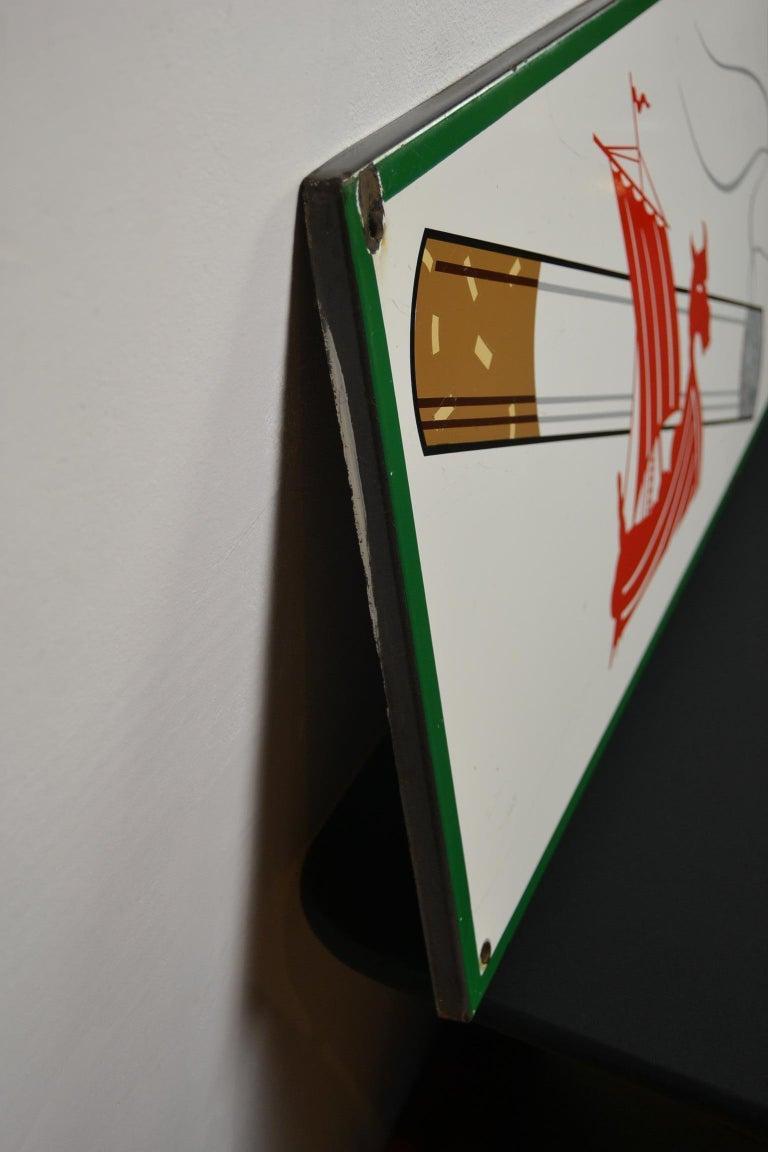 1963 Porcelain Sign for Cigarettes Armada For Sale 5
