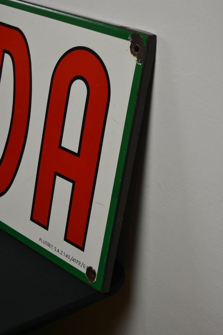 1963 Porcelain Sign for Cigarettes Armada For Sale 6